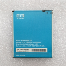 New Original Elephone G1 Battery Replacement For Elephone G1 Smart Phone+In Stock +In stock