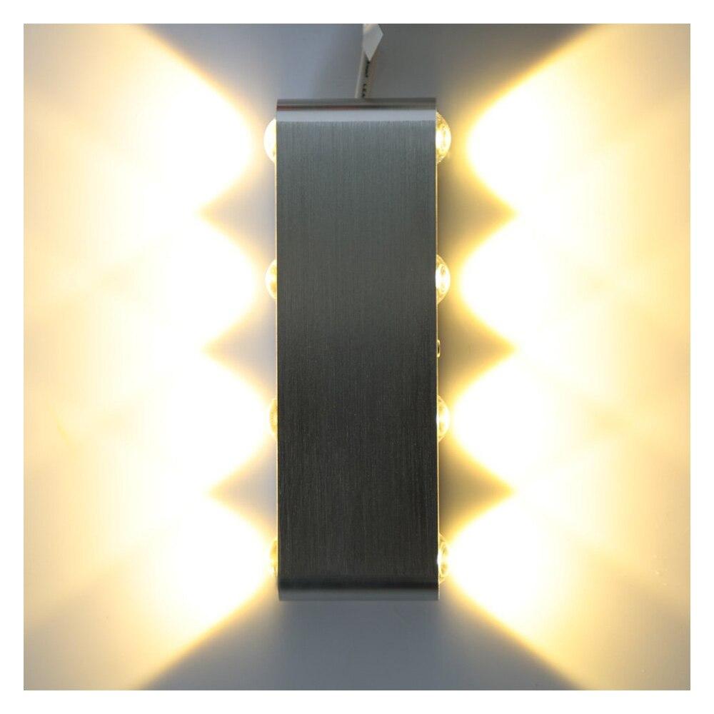 8 Вт 85-265 В AC Алюминий светодиодный светильник настенный светильник indoor Гостиная Обеденная Спальня Кухня для интерьера и Освещение