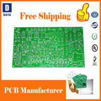 Free Shipping Low Cost PCB Prototype Manufacturer, 1-6 Layers FR4 PCB  Circuit Board, Aluminum Flexible PCB, Stencil, Pay Link 3