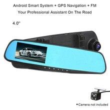 Cncool 4,0 дюймов Full HD зеркало заднего вида видеорегистратор автомобильный регистраторы цифрового видео регистраторы Len камера мониторы ночное видение видеокамера