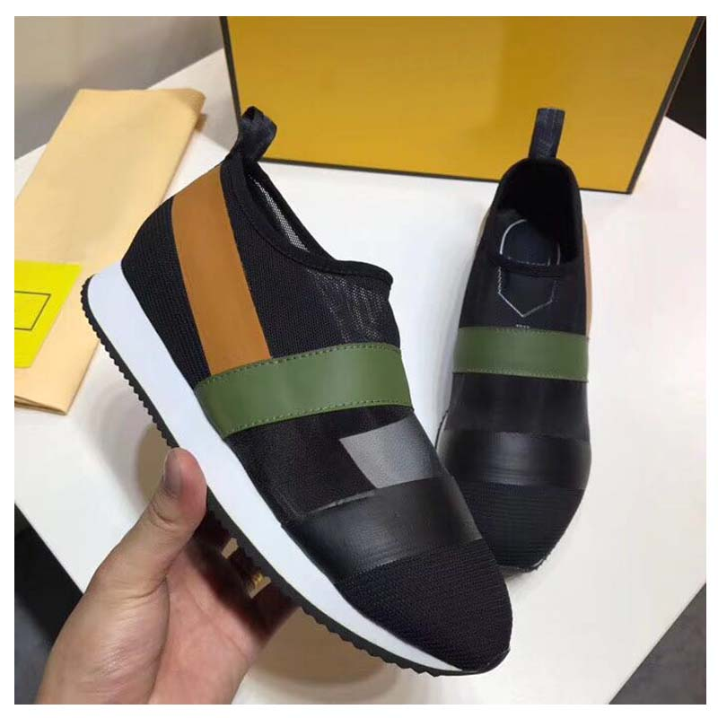 high quality famous brand Luxury comfortable Breathable Casual shoes woman Fashionable New style flat base Net yarn shoes
