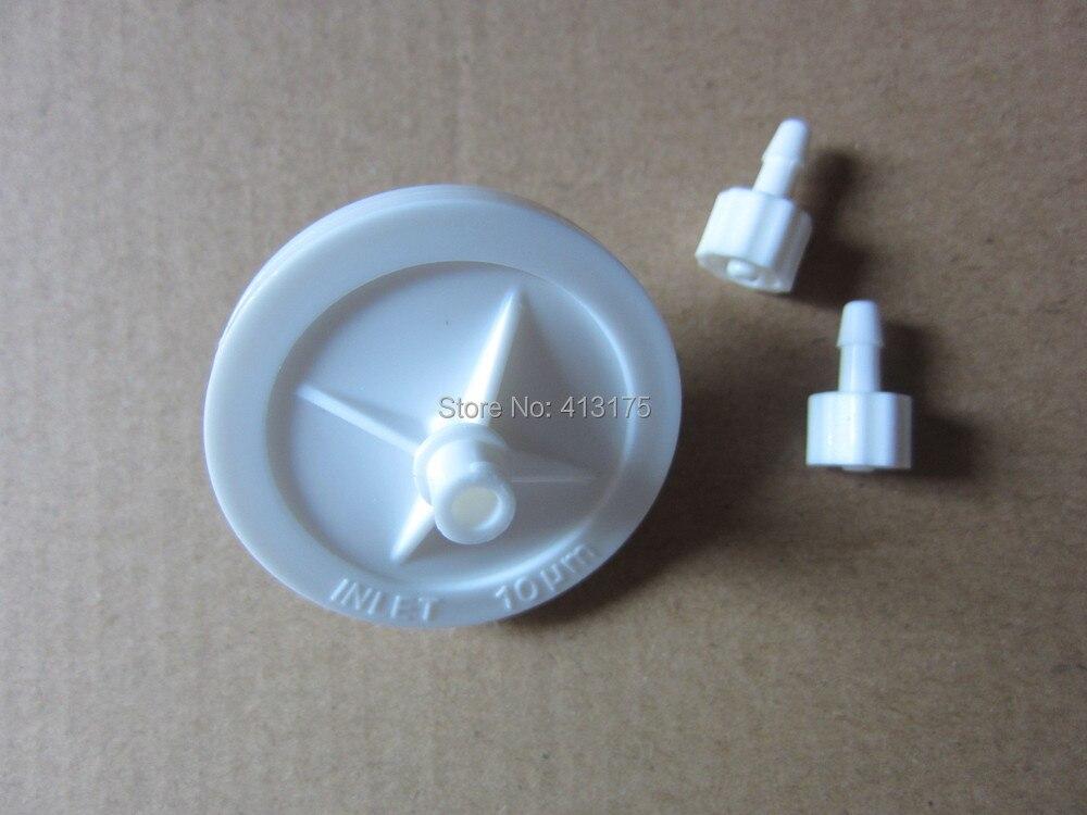 a5226011585f2 50 pçs lote filtro de tinta de impressora jato de tinta Gongzheng solvente  de tinta grande disco Pequeno solvente de Tinta Filtro Resistente Para  Impressora ...