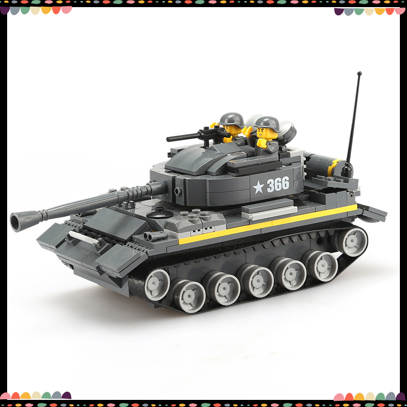 Blocks Wange Building Blocks Military Series Heavy Tank Model Simulation 3d Bricks City Legoing Educational Toys For Kids Children Easy To Lubricate Model Building