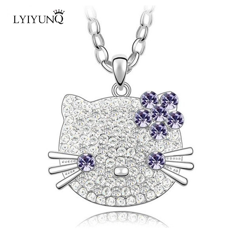 Click here to Buy Now!! Lyiyunq модные брендовые милые животные Ювелирные  украшения ... 60e5bd509e0