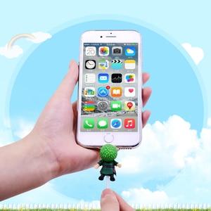 Image 2 - CHIPAL Nette Anime Beißen Draht Wickler für iPhone USB Kabel Protector Organizer Chompers Cartoon Tier Bites Linie Halter Zubehör