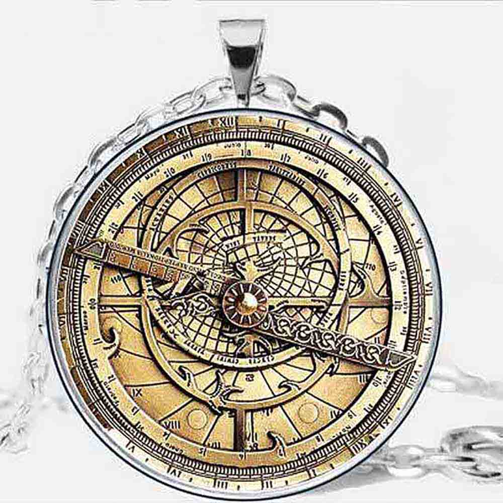 Drama Gravity Falls BILL Pendant Necklace Steampunk glass globe doctor who 1pcs/lot men astrolabe vintage christmas black friday
