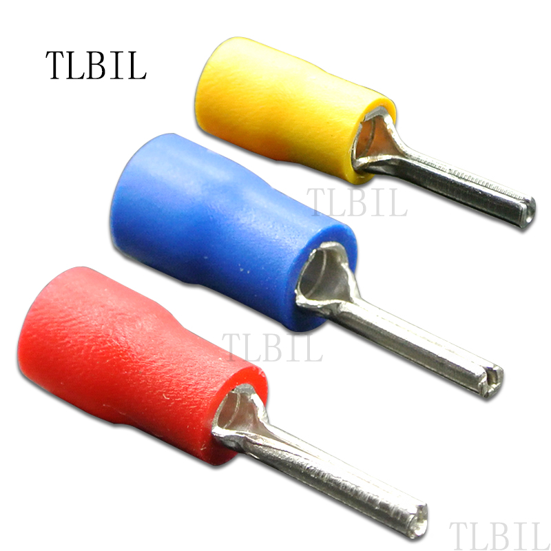 100pcs 22 16awg insulated pin terminals electrical splice. Black Bedroom Furniture Sets. Home Design Ideas