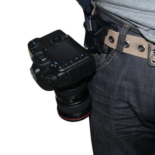 Value-5-Star Pography Camera Strap Capture Camera Waist Belt Holster Quick Strap Buckle Hanger For DSLR Digital SLR Hand Grips
