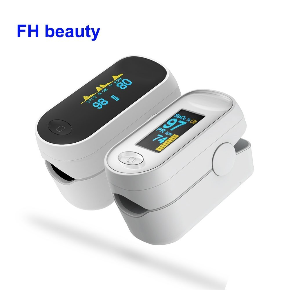 Medical Portable Pulse Oximeter OLED Pulsioximetro Spo2 blood oxygen Heart Rate Monitor Oximetro De pulso Dedo Household Health-in Blood Pressure from Beauty & Health