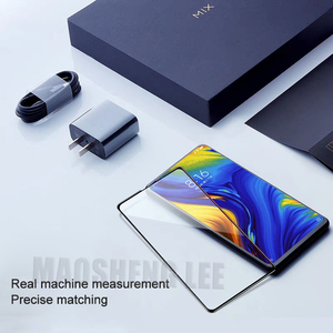 Image 2 - New 9DTempered Glass For Xiaomi Mi Mix 2 2S 3 Full Cover Screen Protector 9H Glass For xiaomi mi mix 2S 3 tempered glass film
