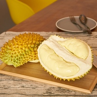 Artificial Fruits Durian Model Simulation Food Vegetables Early Educational Kid Pretend Play House Kitchen Toy