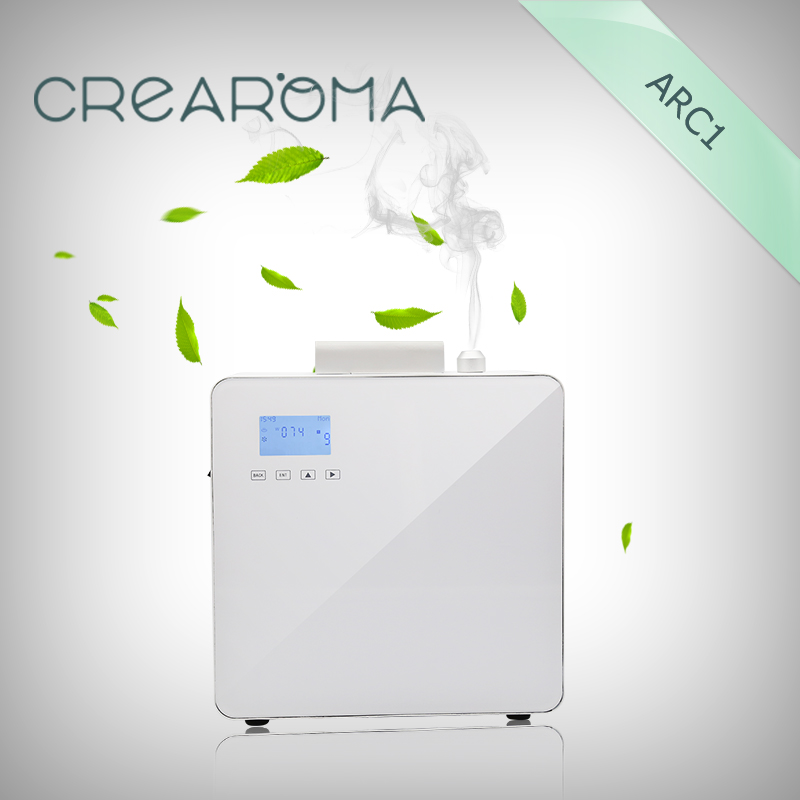 Crearoma arôme diffuseur machine parfum marketing solutions système