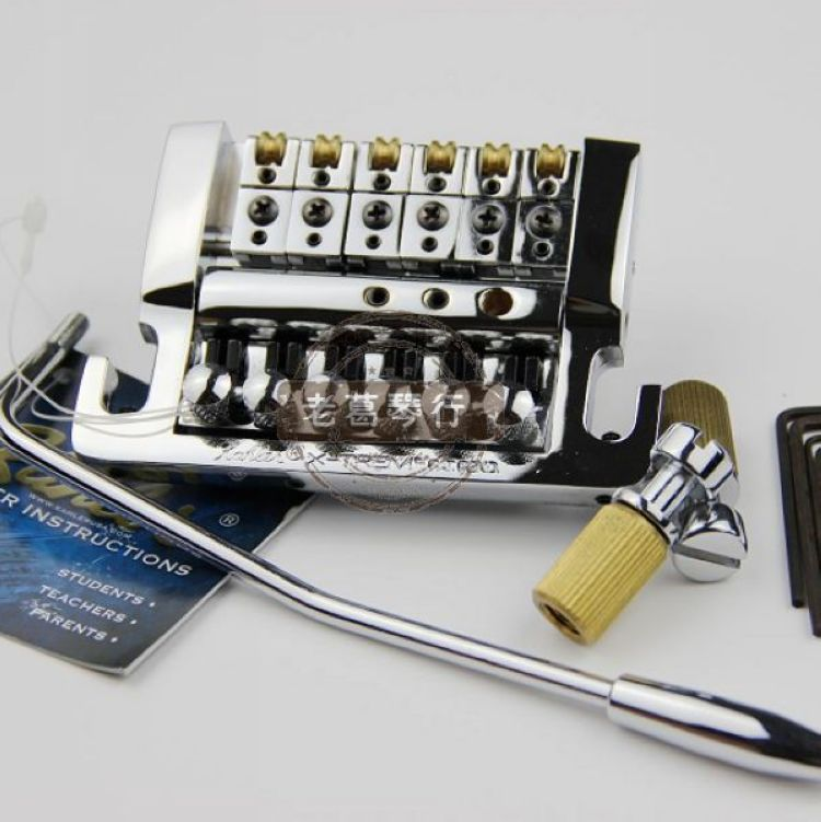 Best selection Guitar Tremolo Supplier 4200 Tremolo Guitar Tremolo New Chrome Tremolo Bridge Top Quality