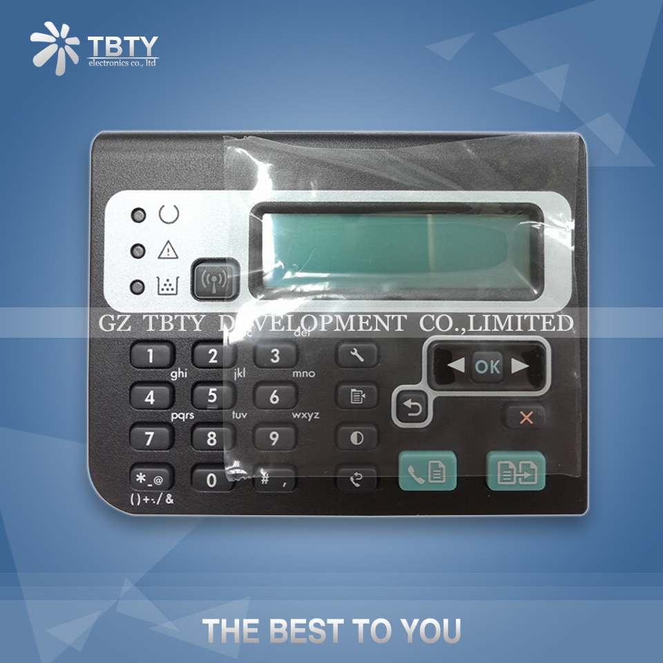 Printer Control Key Board For HP 1218 M1218nfs HP1218 Control Panel Assembly Display printer front control panel for hp t610 t1100 q6683 control keyboard board display screen on sale