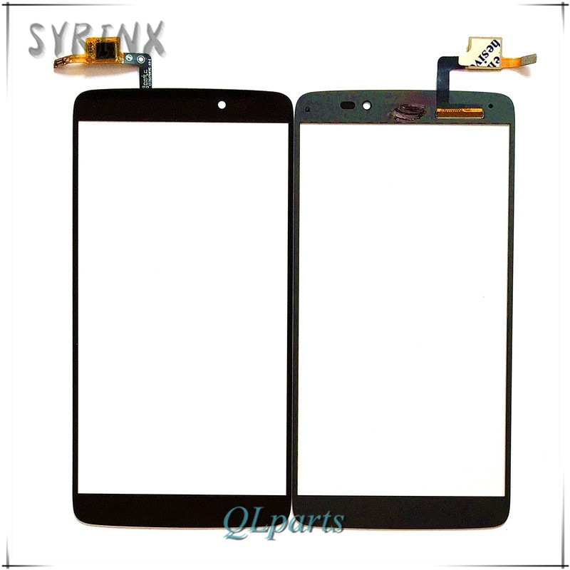 Syrinx Test <font><b>Touch</b></font> Screen Digitizer For <font><b>Alcatel</b></font> <font><b>One</b></font> <font><b>Touch</b></font> <font><b>Idol</b></font> <font><b>3</b></font> 6045 OT6045 <font><b>6045Y</b></font> Touchscreen Front Outter Sensor Panel Glass image