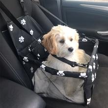OWDBOB Pet Dog Carrier Pad Dog Car Seat Bag Basket Travel Waterproof Pet Car Back Seat Cover Safe Carry House Pet Products недорого