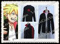 Naruto Boruto Uzumaki Jacket Coat Cosplay Costume Tailor made