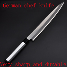 Free Shipping LD 5Cr15Mov Professional Western Style Cuisine Knife Kitchen Sashimi Cooking Salmon Fish Chef Knives Cleaver