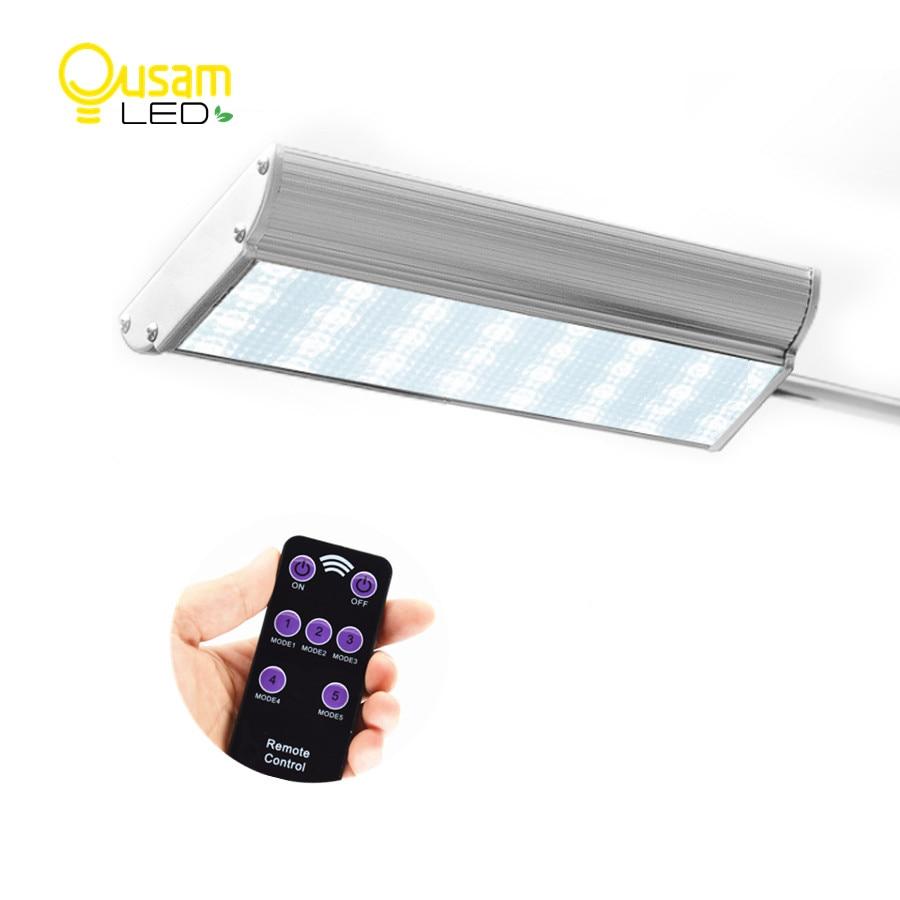 Outdoors Solar Powered Lamp Microwave Motion Sensor 70 Led Solar Light Remote Controller Waterproof Garden Light