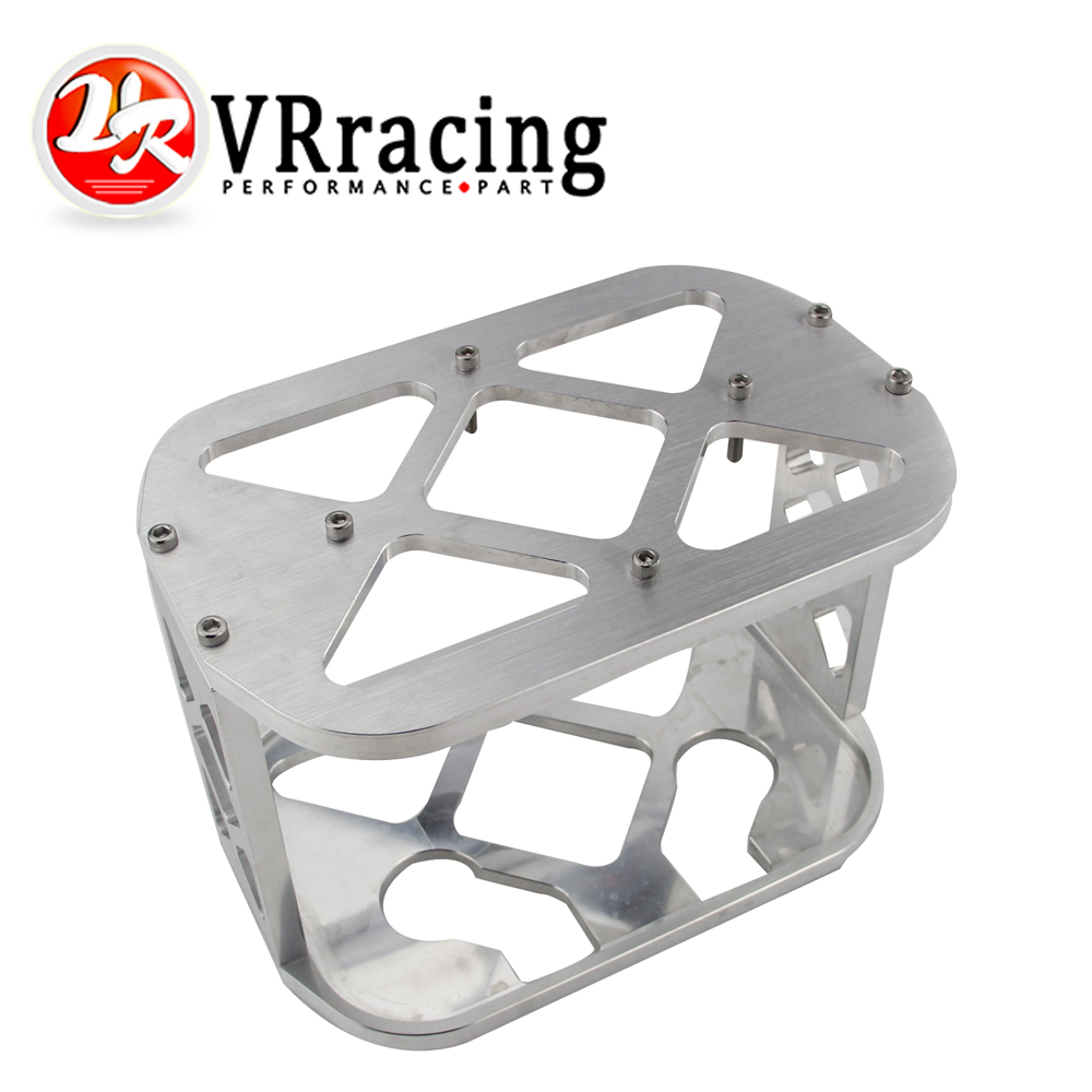 VR RACING UNIVERSAL OPTIMA BATTERY MOUNT BRACKET NATURAL BILLET BATTERY Hold Down Bracket Tray Box VR