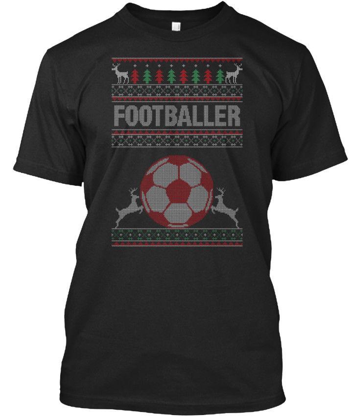 Footballer Ugly Christmas Sweater Bag - T-shirt