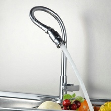 Free shipping BECOLA New Style 360 Rotation Single Holder Single Hole Faucet Chrome Water Power Kitchen Cold Tap BR 9103