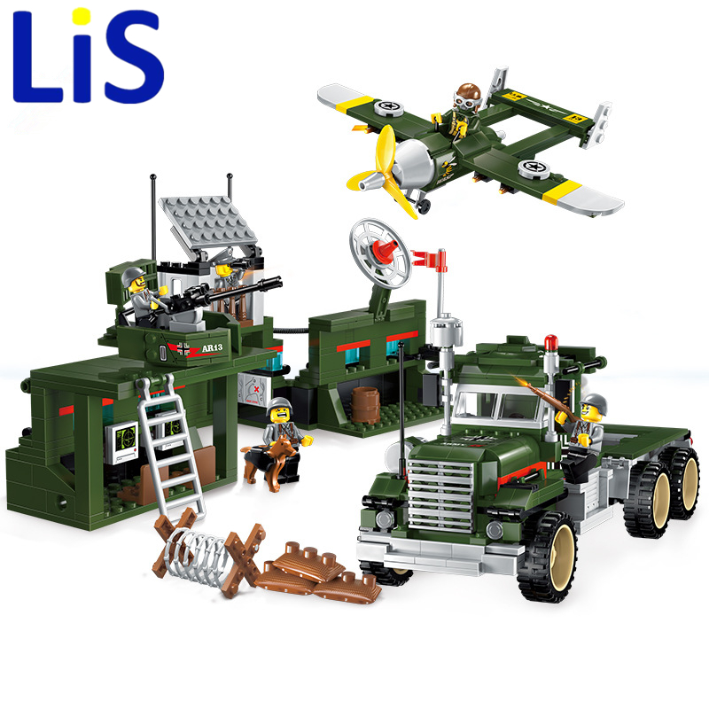 Lis 1713 City SWAT Series Military Fighter Policeman building bricks Compatible Lepin city toys for children lepin 02012 city deepwater exploration vessel 60095 building blocks policeman toys children compatible with lego gift kid sets