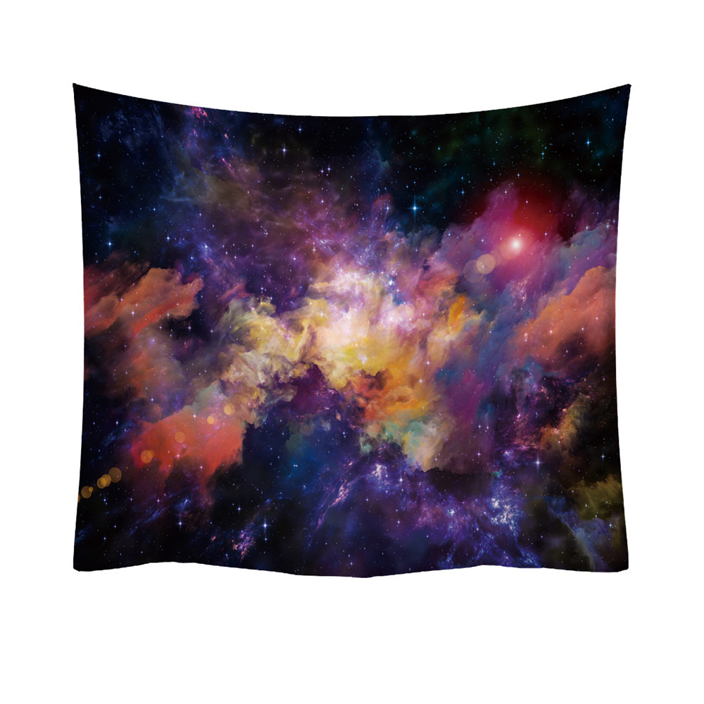 Pleasing Multi Colored Starfield In Watercolor Tapestry Ceiling Hanging Couch Cover Aaeonix Energy Balancing Kit Ncnpc Chair Design For Home Ncnpcorg