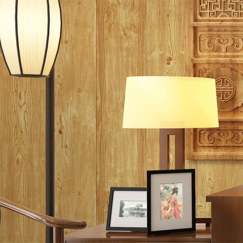 цены Vintage Wall Paper Waterproof PVC Wallpapers 3d Wood Wallpaper Contact Paper 3D Wall Panels Vinyl Wood Wallpaper Roll for Walls