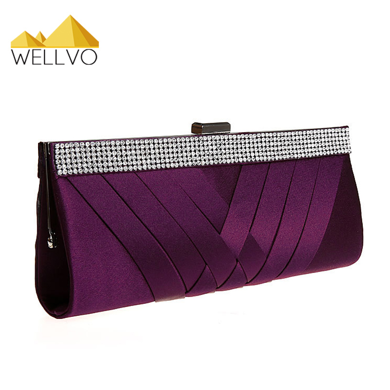 Women Day Clutch Ladies Purse Chain Handbags Women Evening Bag Purple Bride Wedding Party Hand Bags Clutches bolsas mujer XA187C wireless guest calling system for restaurant service bell full equipment with ce certification good 1 display 15 call button