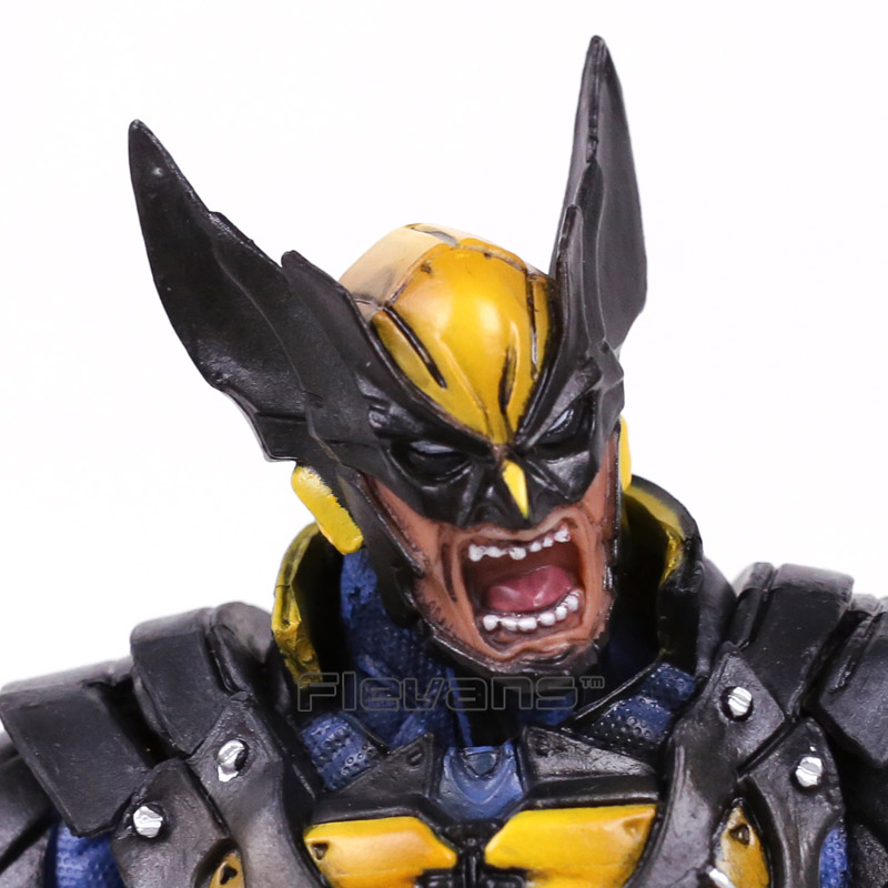 Play Arts Kai Marvel X-MEN Wolverine Logan PVC Action Figure 23