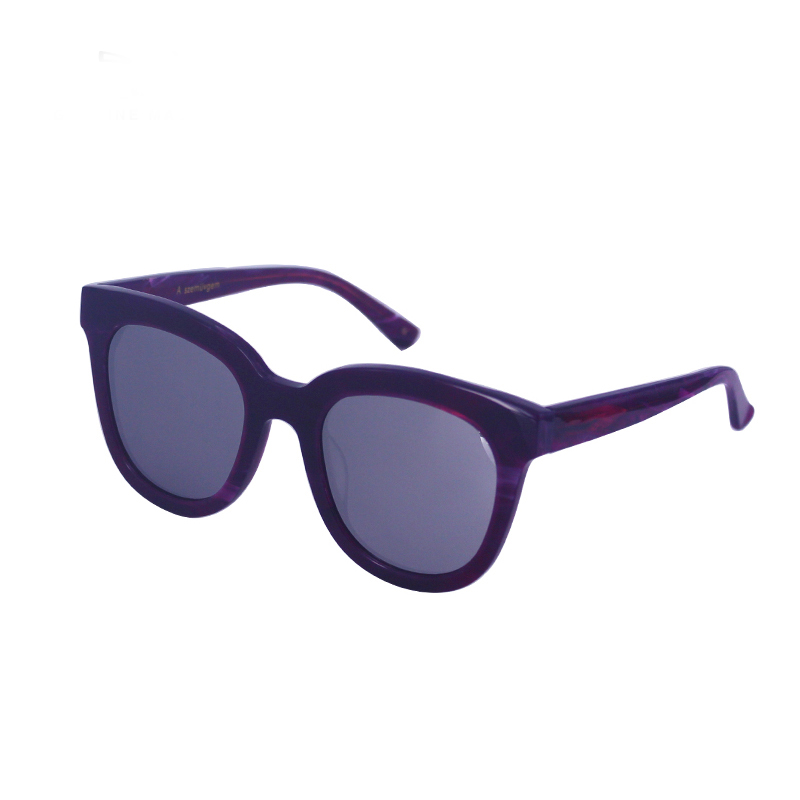 Attraktive Vintage Oval Mode Nette Sungalsses Marke Designer VS01-10 A1019 Hohe Qualität Acetat rahmen Oculos Feminino