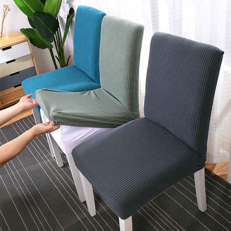 Sensational Simple Nordic Style Seat Chair Covers Elastic Linen Cotton Andrewgaddart Wooden Chair Designs For Living Room Andrewgaddartcom