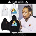 UK Fashion Brand Young People Palace Skateboards Hoodie&Sweatshirts Men Women Hip Hop Triangle Printing Pullover Palace Hoodies