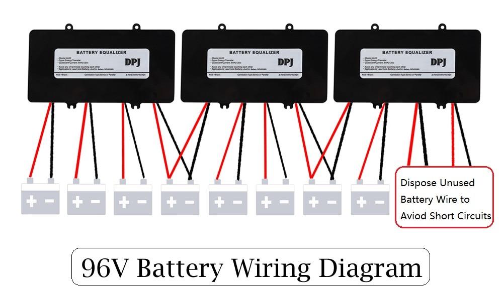 96v 108v 120v battery equalizer used for lead acid batteris balancer rh aliexpress com Battery Isolator Wiring-Diagram Battery Isolator Wiring-Diagram