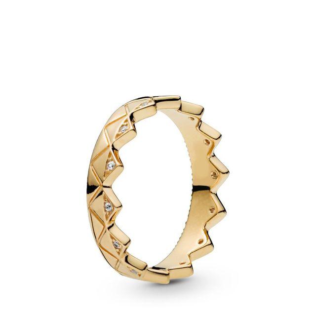 Argent couleur bague breloques bricolage exotique couronne anneaux brillant pierres bleu goutte cristal bijoux bague pour les femmes fête