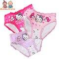 4 pçs/lote moda infantil calcinhas das meninas roupa interior encantador dos desenhos animados crianças calcinhas cuecas criança do sexo feminino roupas