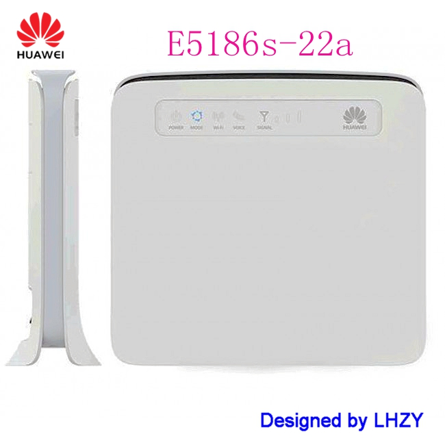 Unlocked Huawei E5186s-22a with antennas FDD 800/900/1800/2100/2600MHz & TDD 2600 LTE 4g 300Mbps wifi router PK B593 B3000 unlocked huawei e5175s 22 cpe wifi router lte fdd 800 900 1800 2100 2600mhz tdd2600mhz cat6 300mbps mobile 4g gateway router