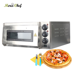 ITOP 220V Stainless Steel Electric Pizza Oven Cake roasted chicken Pizza Cooker Commercial use Kitchen Baking Machine Processor