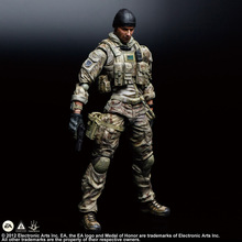 XINDUPLAN Play Arts Medal of Honor Warfighter Navy Seals SQUARE ENIX Game Movable RPG Action Figure Toys 25cm Collect Model 0720