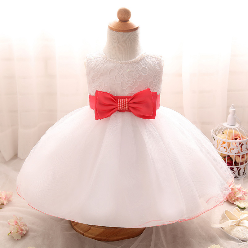 Fancy Newborn Baby Clothing Baby Girl Christening Gown Infant Kids ...