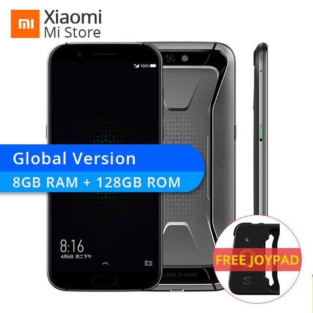 "Global Version Xiaomi Black Shark 8GB 128GB HEISHA Games Mobile Phone Snapdragon 845 CPU 5.99"" 18:9 Full Screen 20.0MP 4000mAh"