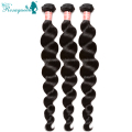 8A Brazilian Virgin Hair Loose Wave 3Pcs Brazilian Human Hair Weave Bundles Rosa Queen Hair Products Brazilian Loose Wave