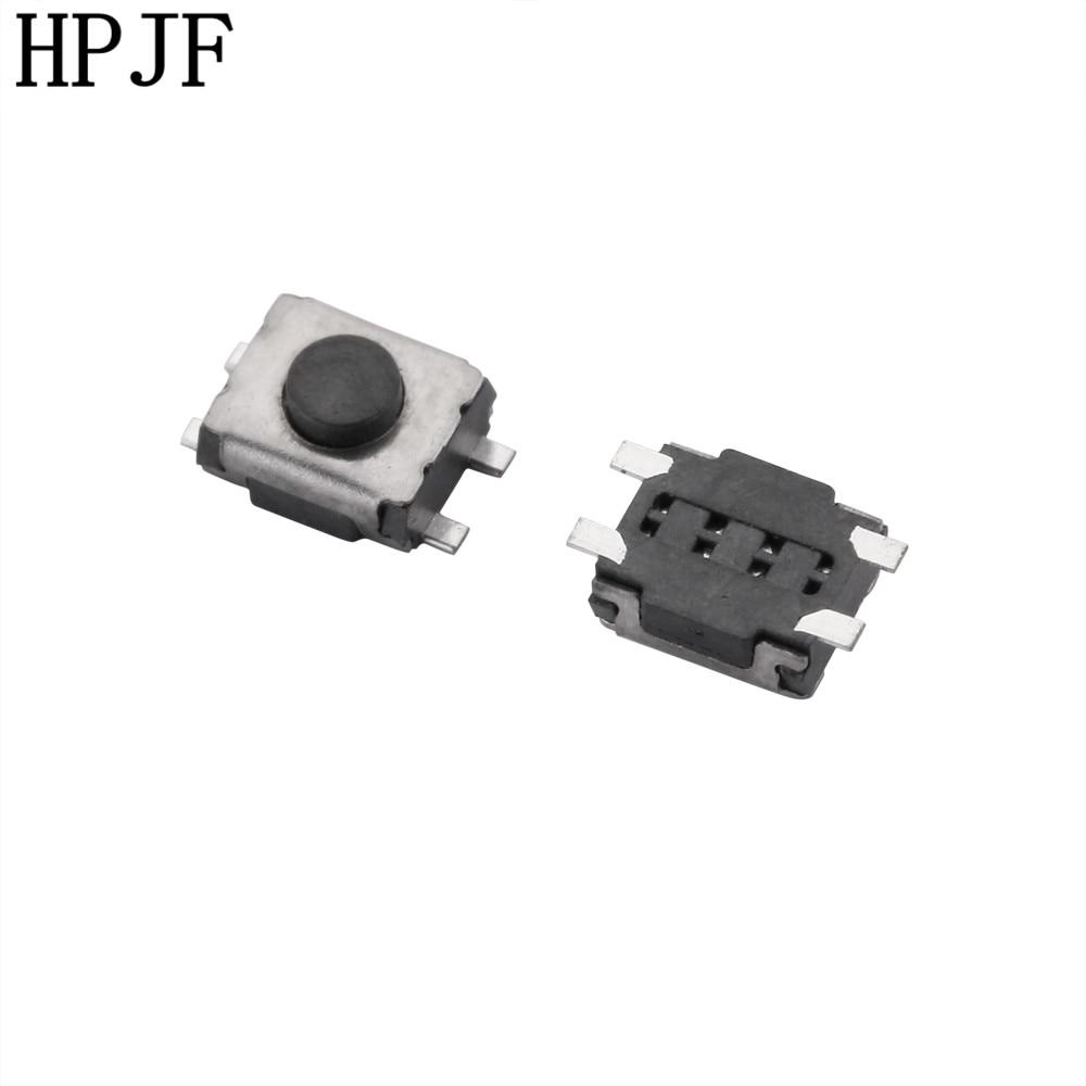 100 Шт. Кнопка 3*4*2.0 ММ Мгновенный Тактильные Такт Кнопочный Переключатель 4 Pin SMT SMD 3x4x2.0 мм