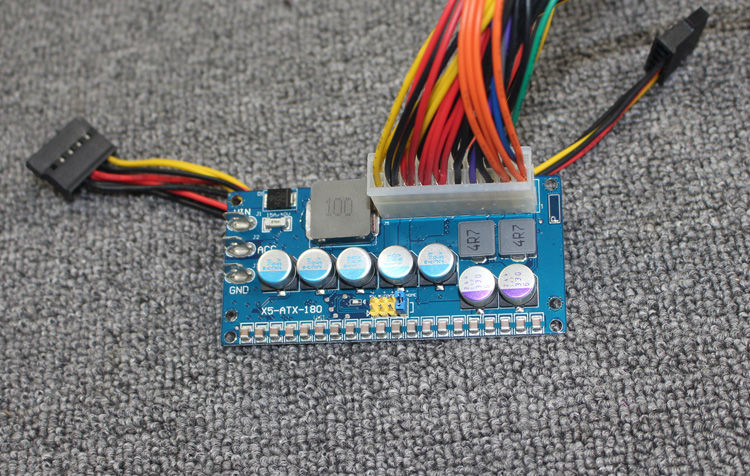 Image 3 - 180w 6v 24v input Intelligent Automotive DC DC Car PC Power Supply (ITPS DC ATX) 12v dc-in Integrated Circuits from Electronic Components & Supplies