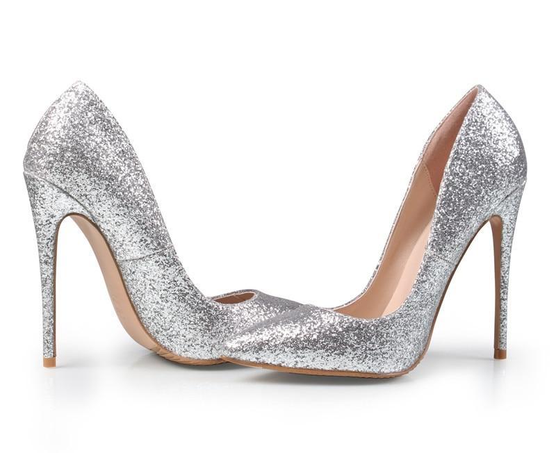 da4c217c468230 Sexy Marque Heel Gold Heel 12cm silver Glitter Haute Dames Femme Heel 12  gold 8cm B 0225 Chaussures Pompes Femmes Talons À 10cm Cm Hauts De Argent  Mariage ...
