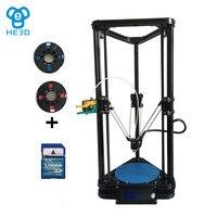 He3d Reprap K200 Delta Diy 3d Printer Kit Support Multi Material Filament New Design High Precision