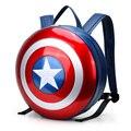 2016 marvel avengers age of ultron pacote super hero capitão américa escudo plástico duro mochila campo mochila grande tamanho 43 cm