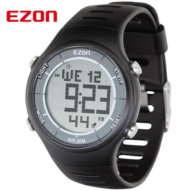 aliexpress com buy original ezon brand professional running original ezon brand professional running sports digital watches men women waterproof digital watch clock dual
