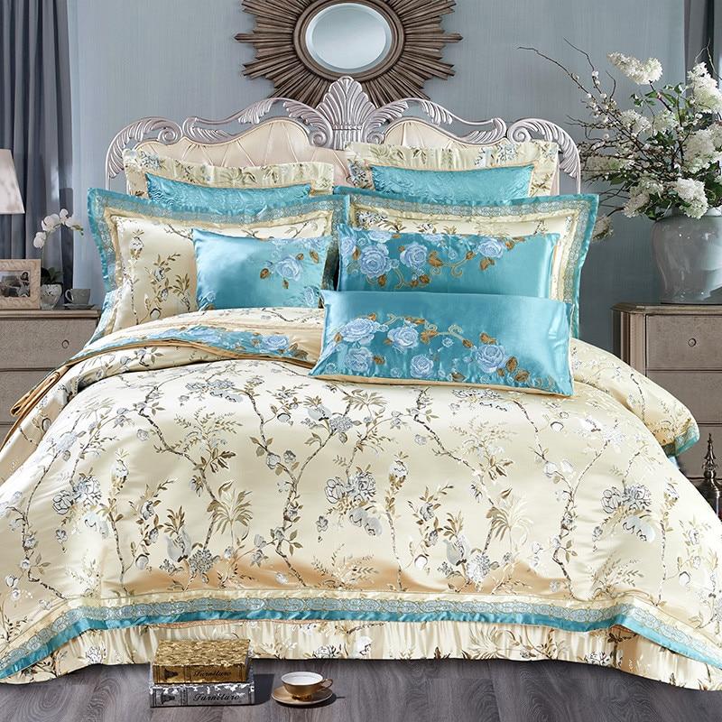 Buy Bed Set: Aliexpress.com : Buy Luxury Queen King Bedding Set